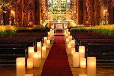 Velas Decorativas para Casamento