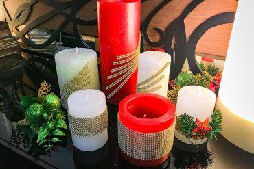 Velas decorativas: como deixar a casa mais receptiva para o Natal