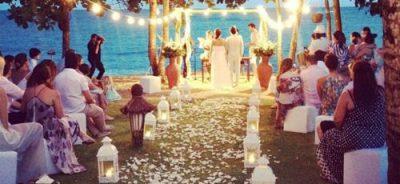 profissional para decoração de casamento com velas