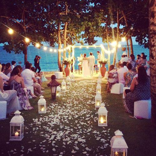Ideias inspiradoras para a decoração de casamento com velas