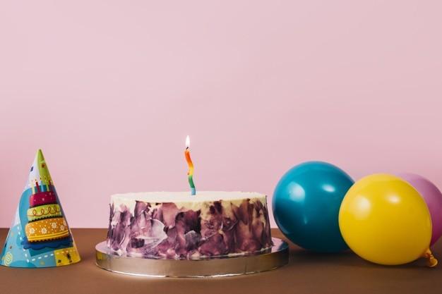 decoração aniversário com velas para animais